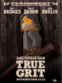 Lego True Grit Poster