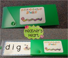 Grab this Stretchy Snake *freebie* to help your kiddos with sounding out words and blending sounds together.