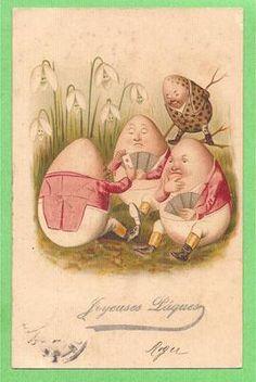 Eggs Postcards