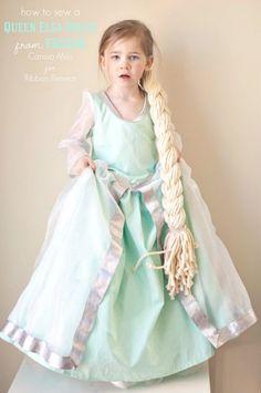Frozen Inspired Queen Elsa Dress