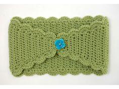 Handmade crochet headband. #DIY