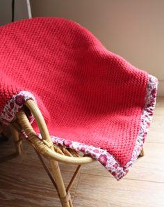 Dishcloth Baby Blanket - Yarn Lover's Room - Knit One