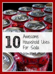 10 Household Uses for Soda