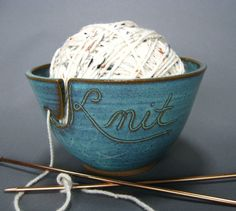 Now to take the ceramics class to make the yarn bowl!  @mykitchenstitch.com