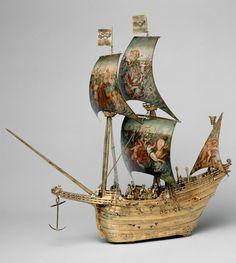 Galleon automaton, 1585