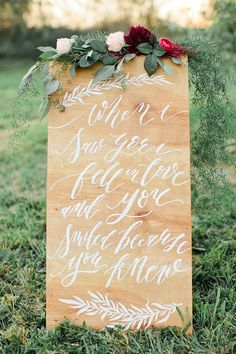 Sweet Autumn wedding