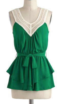 layer green, green top