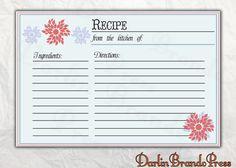 recip card, recipe cards, sunshin flower, flower recip