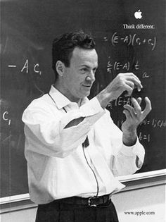 Richard Feynman was an American physicist best known for his contributions to quantum mechanics and particle physics. He was a keen popularizer of physics through both books and lectures.