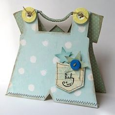 baby outfits, baby cards, stamping up, boy card, baby boys