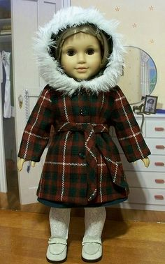 70's Plaid wool Parka for Julie or Ivy
