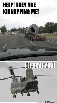 I'll save you - Chinook
