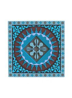 Images d'Orient Mosaic Blue Coasters