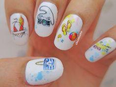 Summer Time Beach Nail Wrap!   chichicho~ nail art addicts