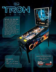 The TRON: Legacy Pinball. I really like this game and want to play it more!