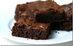 Perfect fudge browni