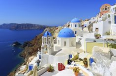 The village of Oia in Santorini, Greece | 19 Truly Charming Places To See Before You Die charm place, buckets, greece, the village, places, travel, oia, santorini, bucket lists
