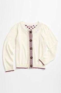 design history stripe cardigan x