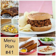 rmk menu plan #41| realmomkitchen.com