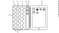 iPad's Smart Cover might get its own flexible display