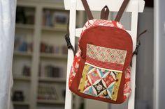 homemade backpack