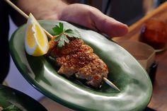 Recipe: Spanish Pork Skewers || Photo: Jim Wilson/The New York Times