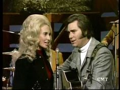 George Jones and Tammy Hee Haw We're Not The Jet Set""