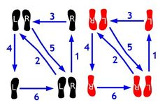 A Abc Ee B C Bae on Paso Doble Dance Steps Diagram