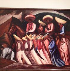 José Clemente Orozco. Zapatistas. 1931. Oil on canvas