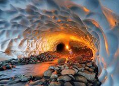 An amazing cave in Alaska - Imgur