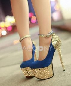 hot shoes, new fashion, dance shoes, heels, fashion spring, blues, glam rock, gold shoes, stiletto
