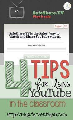 Tech with Jen: 4 Tips for Using YouTube in the Classroom