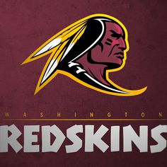 Redesigned NFL Logos for all 32 teams - The Penalty Flag ~ Washington Redskins