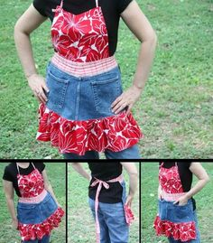 Sewing Crafts to Repurpose Jeans