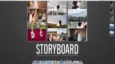 $79 Storyboard by Sean McGrath. Demonstration video of Storyboard: A Photoshop script for laying out diptychs and any combination of images for the purposes of blogging.
