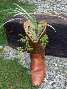Sensational Shoe Planters/ LOVE!!