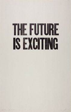 The #future is exciting.