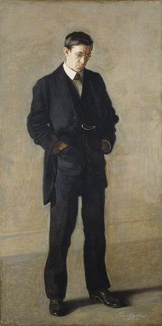 Thomas Eakins, The Thinker (Portrait of Louis N. Kenton), 1900