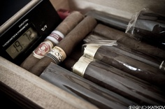 Humidors and cigar accessories