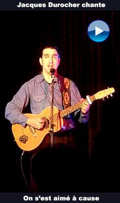 On s'est aimé à cause, une chanson de Céline Dion interprétée par Jacques Durocher. Vidéo capté lors d'un concert acoustique.