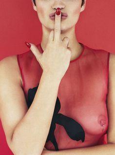 Pixie Geldof By Stefan Zschernitz For Ponystep #6 Winter2013 - 3 Sensual Fashion Editorials   Art Exhibits - Anne of Carversville Women's N...