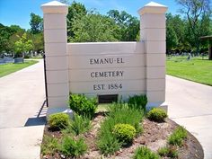 Temple Emanu-El Cemetery - Dallas, TX - Worldwide Cemeteries on Waymarking.com