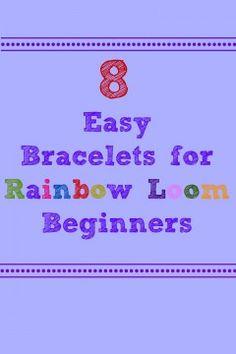 easy rainbow loom tutorials