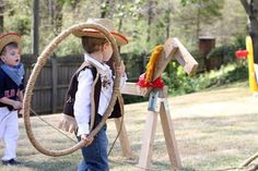 petit à petit and family: Copy Cat: Wild West & Teepee B-day ...