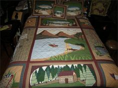GONE FISHING QUILT
