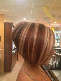 Stacked Bob Haircut Back View |