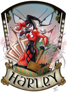 Harley Quinn by Chris De Lara