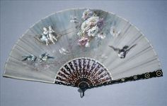 Fan, late 19th century