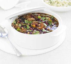 Fruity lamb tagine recipe - Recipes - BBC Good Food