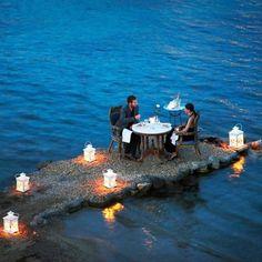 Romantic date...
